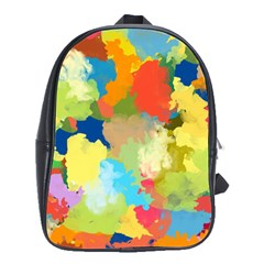 Summer Feeling Splash School Bag (large) by designworld65