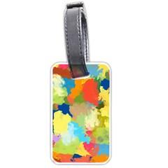 Summer Feeling Splash Luggage Tags (one Side)  by designworld65