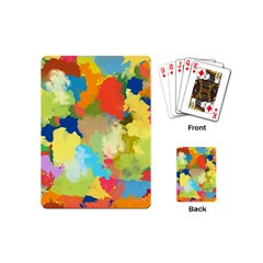 Summer Feeling Splash Playing Cards (mini)  by designworld65