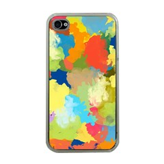Summer Feeling Splash Apple Iphone 4 Case (clear) by designworld65