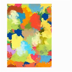 Summer Feeling Splash Large Garden Flag (two Sides) by designworld65