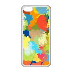 Summer Feeling Splash Apple Iphone 5c Seamless Case (white) by designworld65