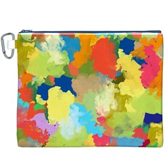 Summer Feeling Splash Canvas Cosmetic Bag (xxxl) by designworld65
