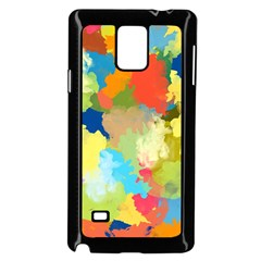 Summer Feeling Splash Samsung Galaxy Note 4 Case (black) by designworld65