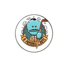 Meeseeks Hat Clip Ball Marker (4 Pack) by quirogaart