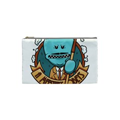 Meeseeks Cosmetic Bag (small)  by quirogaart