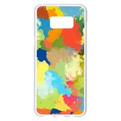 Summer Feeling Splash Samsung Galaxy S8 Plus White Seamless Case by designworld65