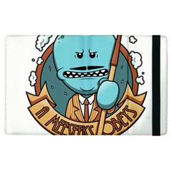Meeseeks Apple Ipad 3/4 Flip Case by quirogaart