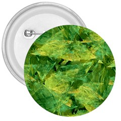 Green Springtime Leafs 3  Buttons by designworld65