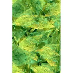 Green Springtime Leafs 5 5  X 8 5  Notebooks by designworld65