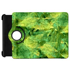 Green Springtime Leafs Kindle Fire Hd 7  by designworld65