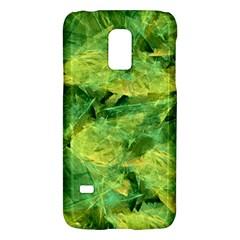 Green Springtime Leafs Galaxy S5 Mini by designworld65