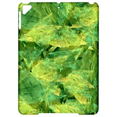Green Springtime Leafs Apple Ipad Pro 9 7   Hardshell Case by designworld65