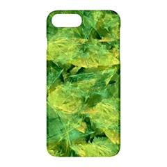 Green Springtime Leafs Apple Iphone 7 Plus Hardshell Case by designworld65