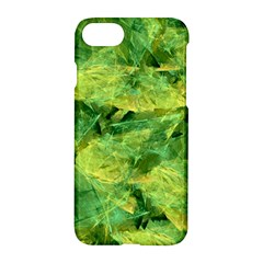 Green Springtime Leafs Apple Iphone 7 Hardshell Case by designworld65