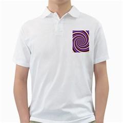 Woven Spiral Golf Shirts