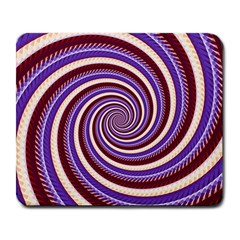 Woven Spiral Large Mousepads by designworld65