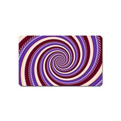 Woven Spiral Magnet (name Card) by designworld65