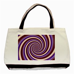 Woven Spiral Basic Tote Bag by designworld65