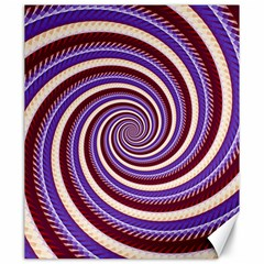 Woven Spiral Canvas 20  X 24   by designworld65