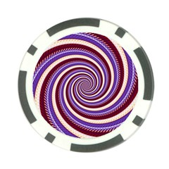 Woven Spiral Poker Chip Card Guard (10 Pack) by designworld65
