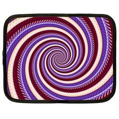 Woven Spiral Netbook Case (xl)  by designworld65