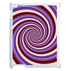 Woven Spiral Apple Ipad 2 Case (white) by designworld65