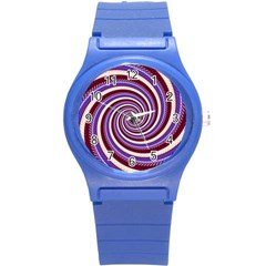 Woven Spiral Round Plastic Sport Watch (s) by designworld65
