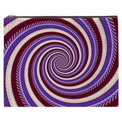 Woven Spiral Cosmetic Bag (xxxl)  by designworld65