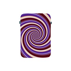 Woven Spiral Apple Ipad Mini Protective Soft Cases by designworld65