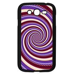 Woven Spiral Samsung Galaxy Grand Duos I9082 Case (black) by designworld65