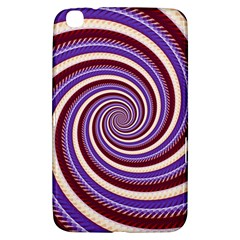 Woven Spiral Samsung Galaxy Tab 3 (8 ) T3100 Hardshell Case  by designworld65
