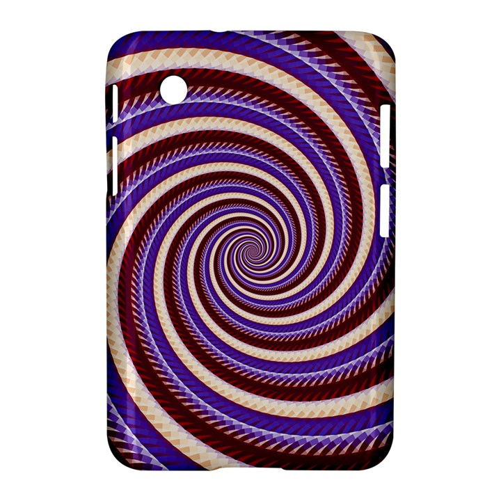 Woven Spiral Samsung Galaxy Tab 2 (7 ) P3100 Hardshell Case