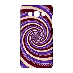 Woven Spiral Samsung Galaxy A5 Hardshell Case  by designworld65