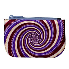 Woven Spiral Large Coin Purse by designworld65