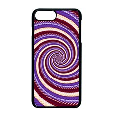 Woven Spiral Apple Iphone 7 Plus Seamless Case (black) by designworld65
