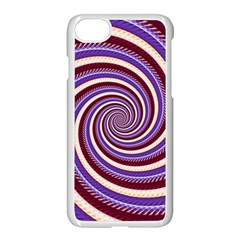 Woven Spiral Apple Iphone 7 Seamless Case (white) by designworld65