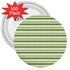 Spring Stripes 3  Buttons (100 Pack)  by designworld65