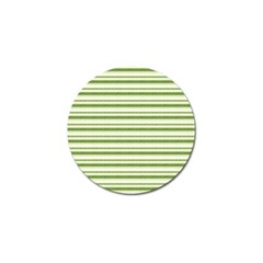 Spring Stripes Golf Ball Marker by designworld65