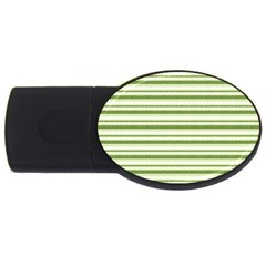 Spring Stripes Usb Flash Drive Oval (4 Gb) by designworld65