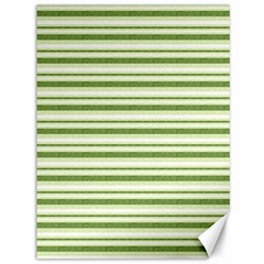 Spring Stripes Canvas 36  X 48   by designworld65