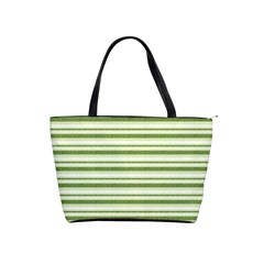 Spring Stripes Shoulder Handbags by designworld65