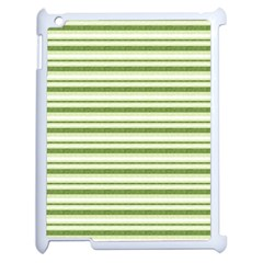 Spring Stripes Apple Ipad 2 Case (white) by designworld65