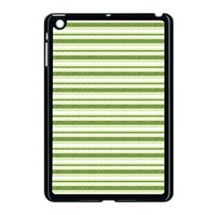 Spring Stripes Apple Ipad Mini Case (black) by designworld65