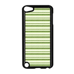 Spring Stripes Apple Ipod Touch 5 Case (black) by designworld65