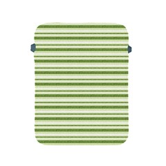Spring Stripes Apple Ipad 2/3/4 Protective Soft Cases by designworld65