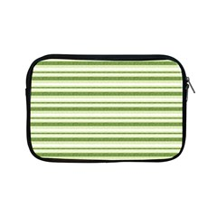 Spring Stripes Apple Ipad Mini Zipper Cases by designworld65