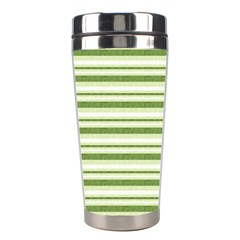 Spring Stripes Stainless Steel Travel Tumblers by designworld65