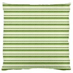 Spring Stripes Large Flano Cushion Case (two Sides)