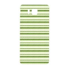 Spring Stripes Samsung Galaxy Alpha Hardshell Back Case by designworld65